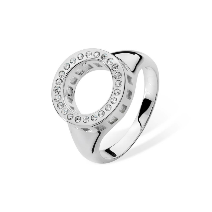 Silver Round Ring