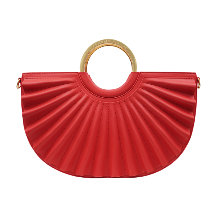 Water Moon Satchel | Red