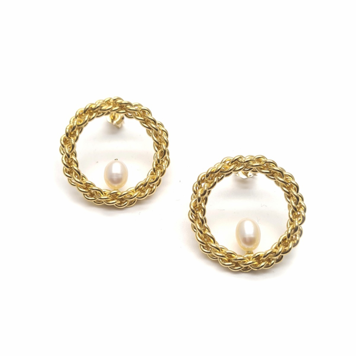 18kt Yellow Gold Plated Lucy Earrings