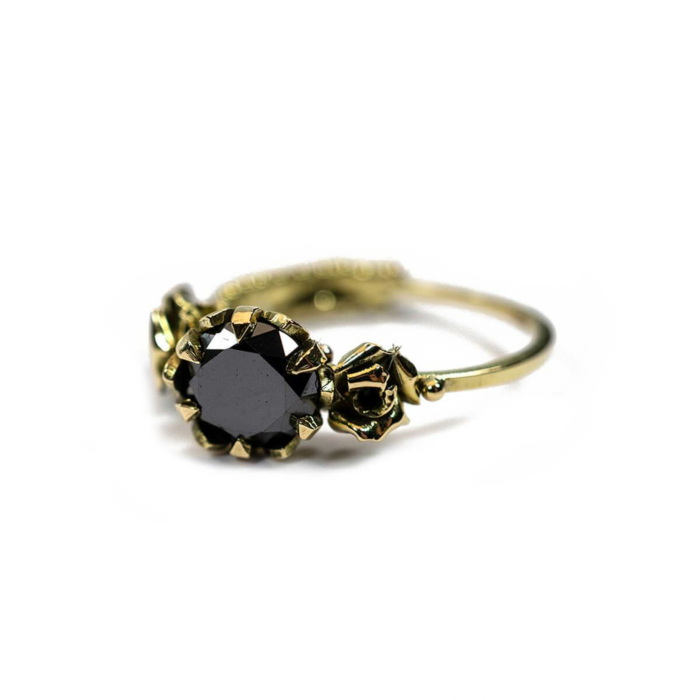 18kt Yellow Gold Rosie Ring