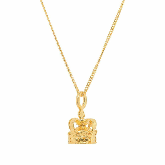 Crown Gold Plated Charm