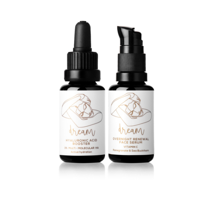 Vitamin C & Hyaluronic Acid Night Treatment Serums - Dream Couple