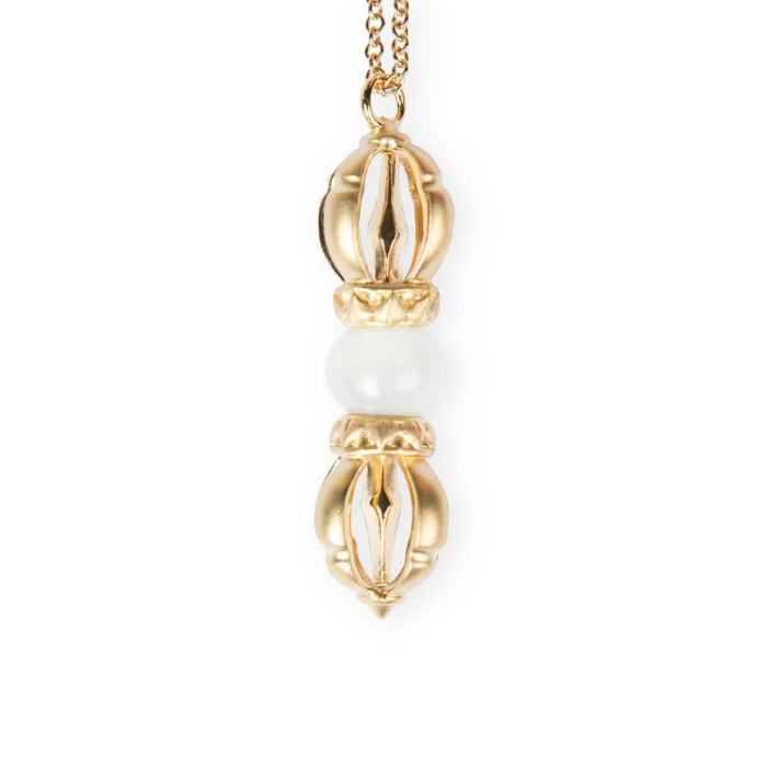 The Light of Compassion Yellow Gold Necklace