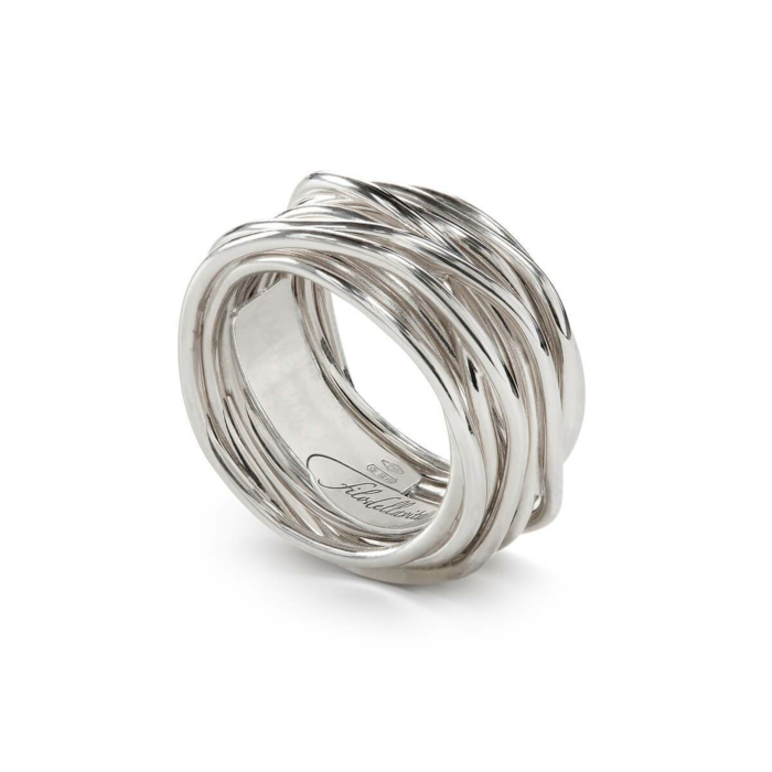 Sterling Silver Classic Argento 13 Ring