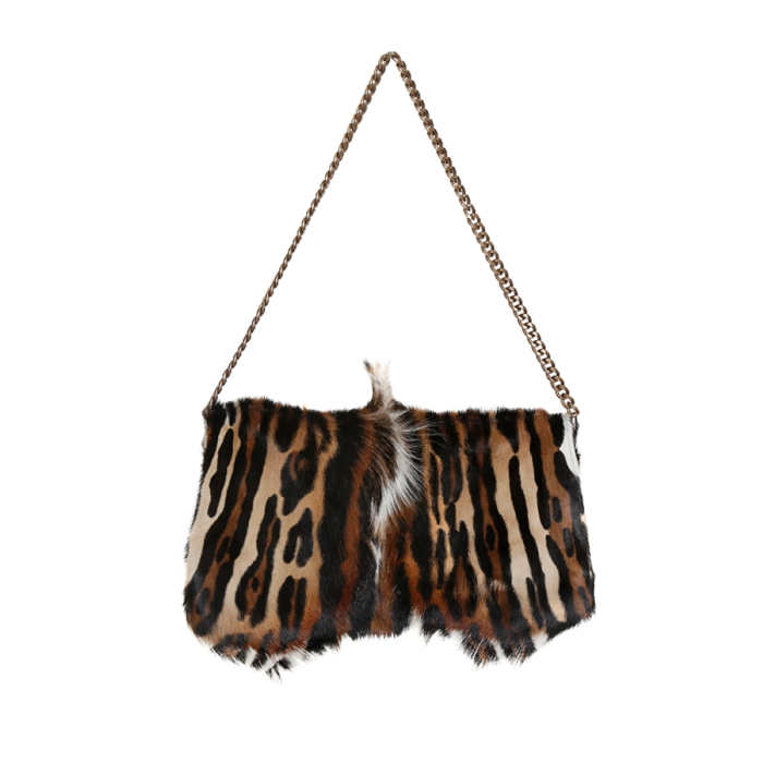 Springbok bag with animal print finish in leopard style