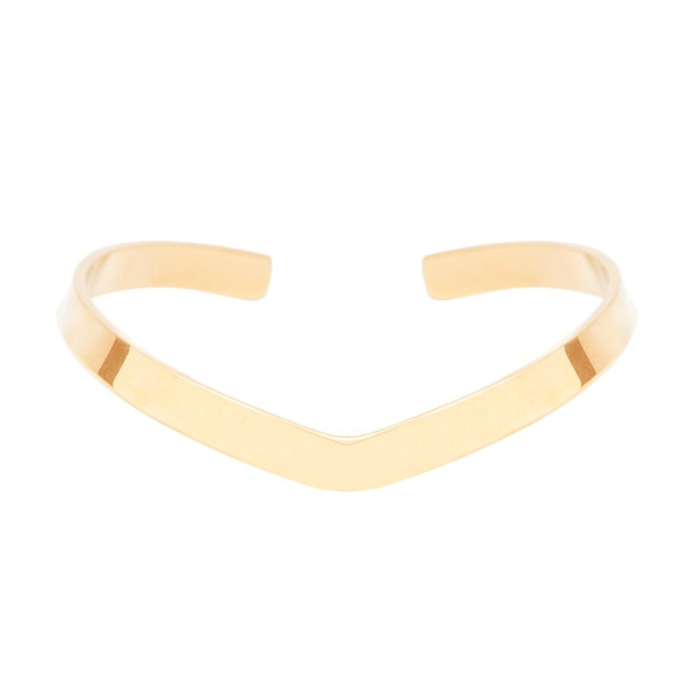 16kt Gold Plated Branch Bangle