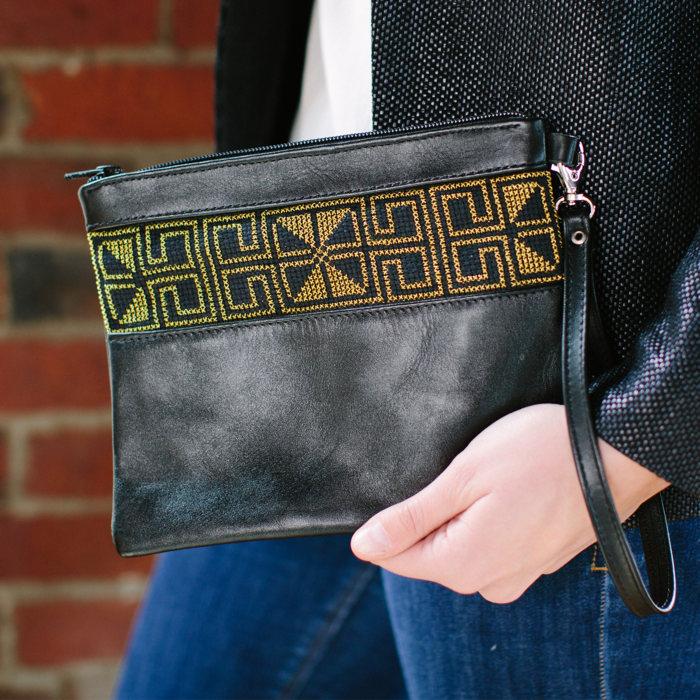 The Gold Egypt Clutch Bag