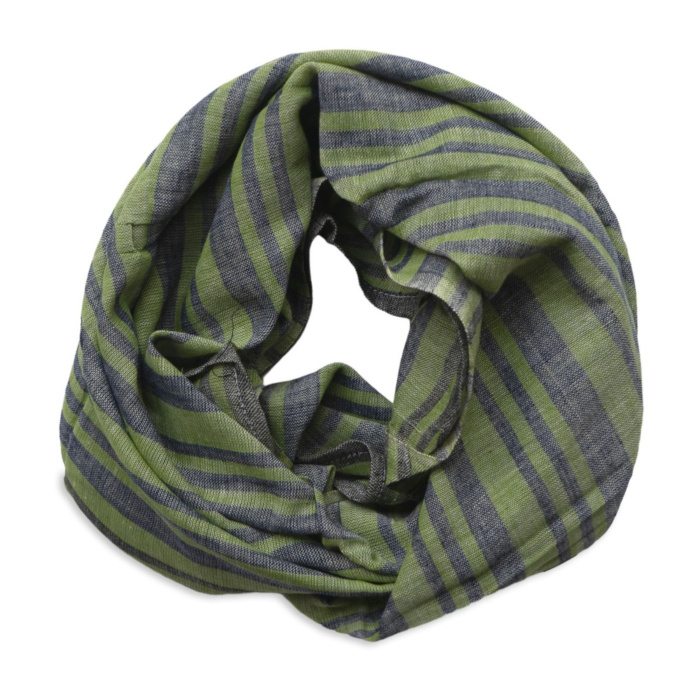 Mint Green Cotton Square Scarf