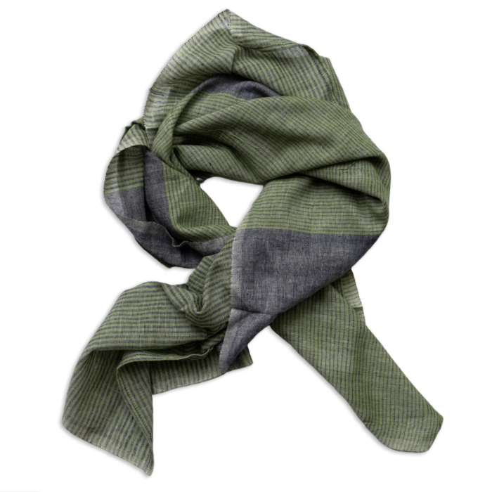 Mint Green Cotton Neck & Face Scarf