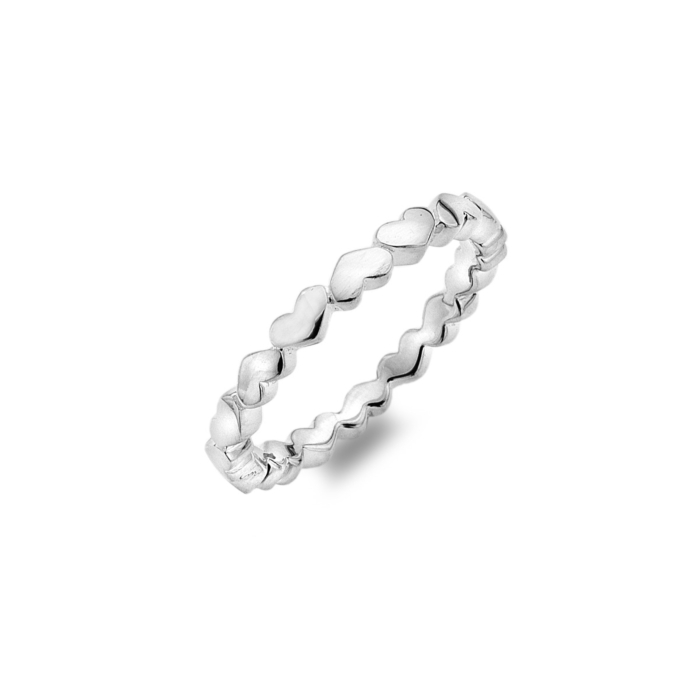 Sterling Silver Forever & Always Ring