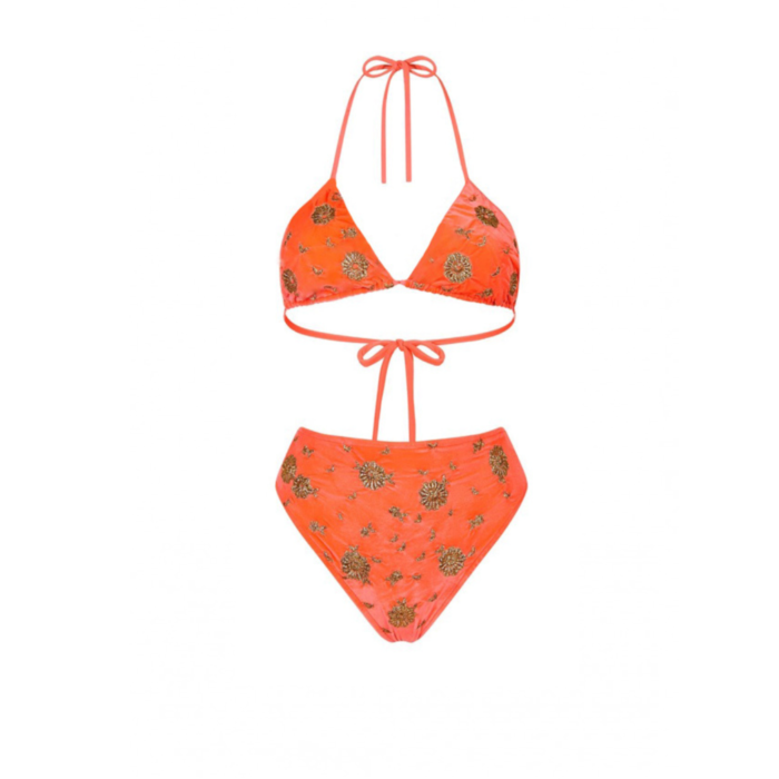 Whitney Orange Swimsuit