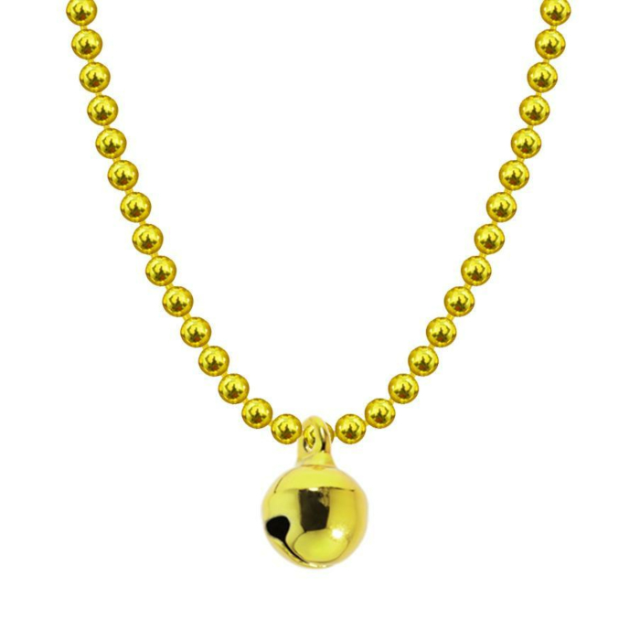 Allumette Bell Necklace - Yellow Gold