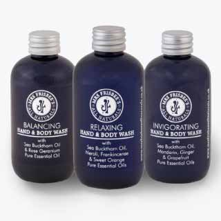 Aromatherapy Hand & Body Wash Collection | Mrs Frisbee's All Naturals