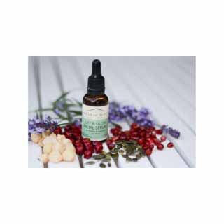 Lift and Glow Facial Serum with Rosehip, Pomegranate and Neroli | Organic House