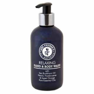 Relaxing Hand & Body Wash with Neroli, Frankincense & Sweet Orange | Mrs Frisbee's All Naturals