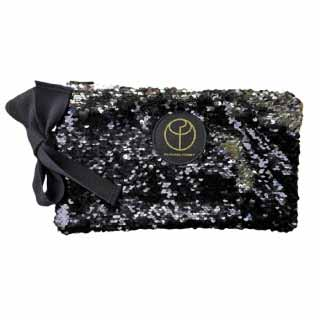 Silver Sequin Clutch Bag | Claudia Fürst
