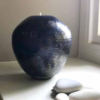 Ceramic Sphere Tealight Holder 4 | Judy Caplin Ceramics