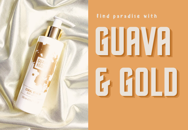 Find Paradise With Guava & Gold, Cruelty-Free Bath & Body Products