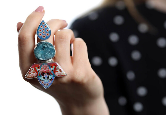 12 pieces of big and bold jewellery
