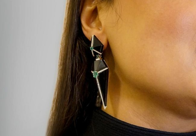 8 onyx earrings to adore