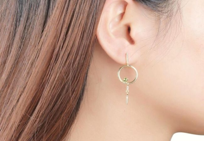 9 Drop Hoop Earrings Under £50