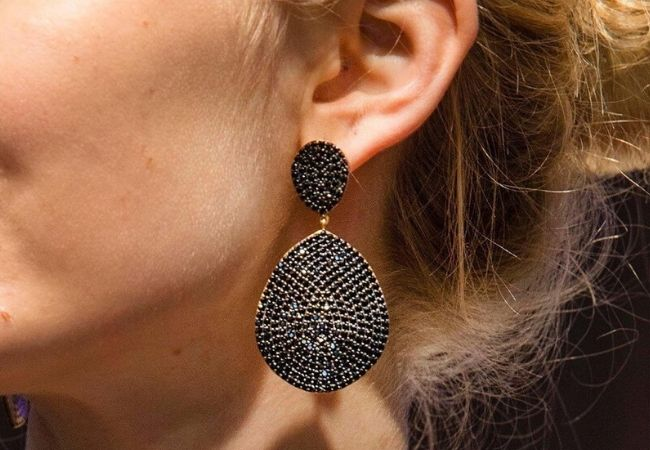 Bang On Trend With 10 Pairs Of The Best Black Earrings
