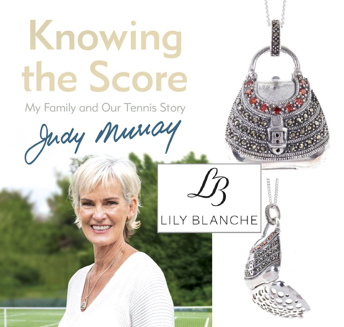 Knowing the Score by Judy Murray, 2018
