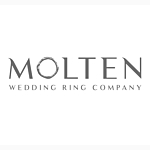 Molten Wedding Rings